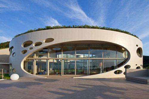 Круглые дома в архитектуре